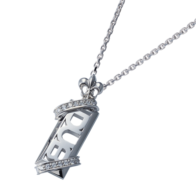 【DUB Collection│ダブコレクション】Stone twined Necklace ストーンツインドネックレス DUBj-295-2【ユニセックス】