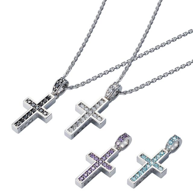 受注生産(オーダー)【DUB Collection│ダブコレクション】Rectilinear Cross Necklace レクタリニアクロスネックレス DUBj-297-Pair【ペア】