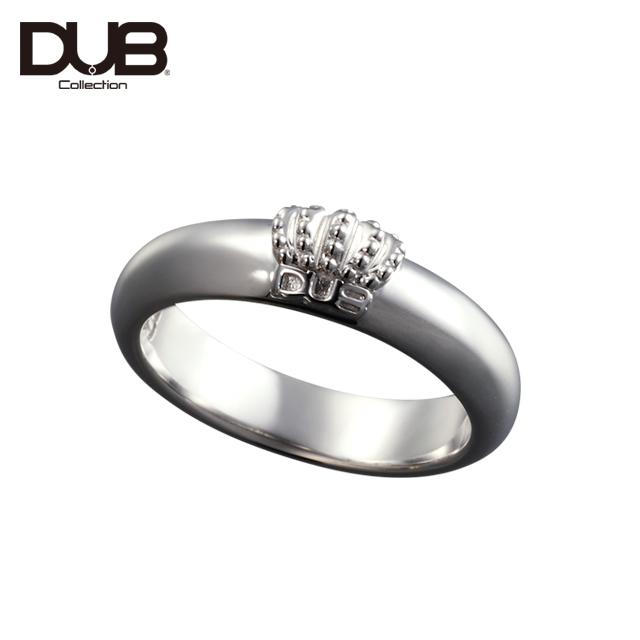 【DUB Collection│ダブコレクション】Crown Domed Ring クラウンドームリング DUBj-310-1【ユニセックス】