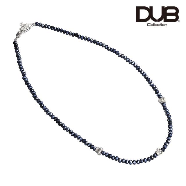 即日発送アイテム【DUB Collection│ダブコレクション】Crown Beads Necklace クラウンビーズネックレス DUBj-330-2【ユニセックス】