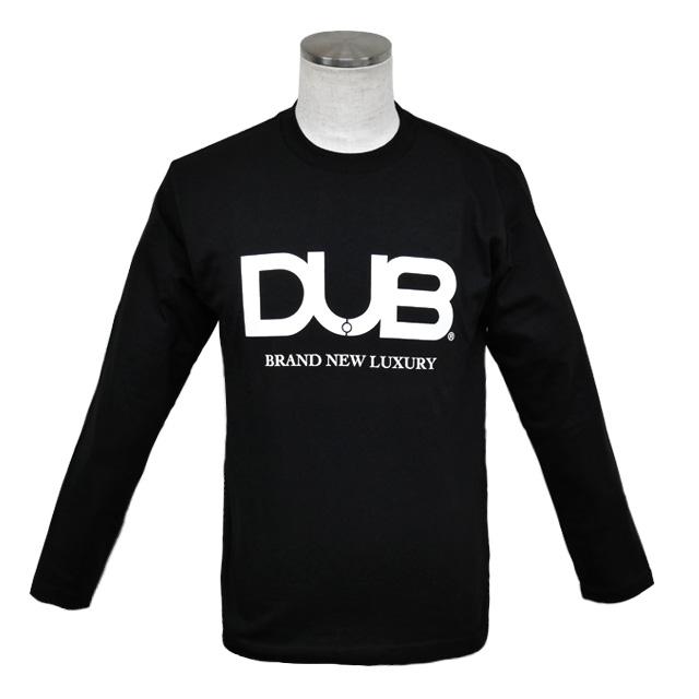 即日発送アイテム【DUB collection|ダブコレクション】DUBロングTシャツ ロゴ DUBt-03BK【ユニセックス】