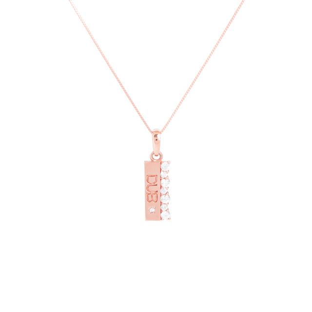 【DUB Sweet|ダブスウィート】Petit plate Necklace プチプレートネックレス DUBjp-10【レディース】