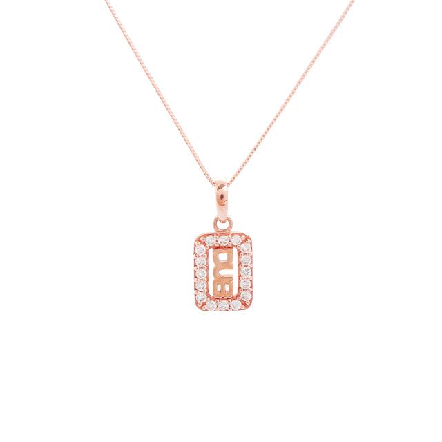 【DUB Sweet|ダブスウィート】Shine frame Necklace シャインフレームネックレス DUBjp-14【レディース】