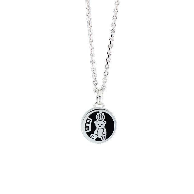 【予約受付中】【DUB Collection│ダブコレクション】 天野眞隆 model Crown Bear Medal Necklace DUB-C032-1【ナオピーコラボ】【ユニセックス】