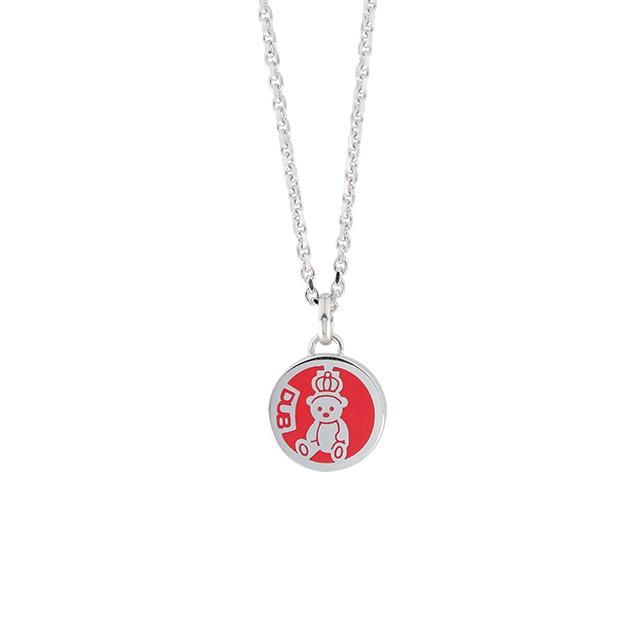 【予約受付中】【DUB Collection│ダブコレクション】 天野眞隆 model Crown Bear Medal Necklace DUB-C032-2【ナオピーコラボ】【ユニセックス】