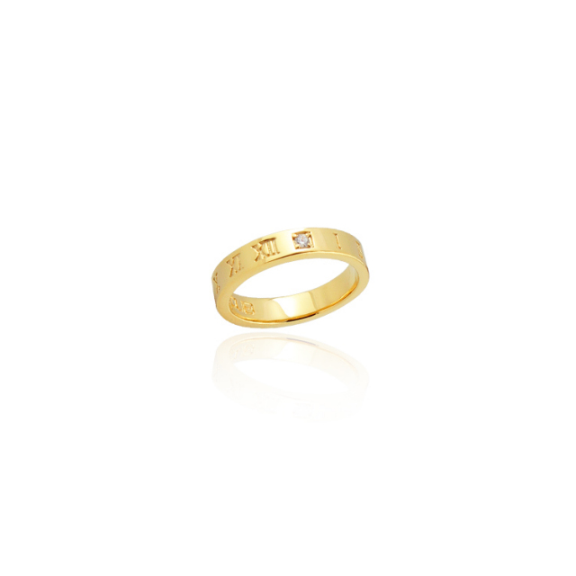 【要予約】【DUB Collection│ダブコレクション】 KANAE model Both Ticking Ring ボースティッキングリング DUB-C041-2【KANAEコラボ】【男女兼用】