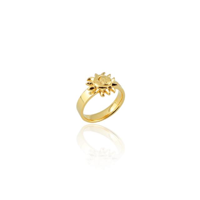 【要予約】【DUB Collection│ダブコレクション】 KAZUE model Sun&Moon Ring サンアンドムーンリング DUB-C042-2【KAZUEコラボ】【男女兼用】
