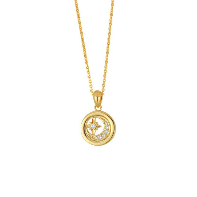 【DUB Collection】本田響矢model Moonlight Necklace ムーンライトネックレス DUB-C064-1