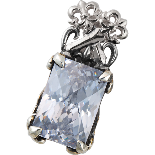 アウトレット【DUB Luxury|ラグジュアリーダブ】Cross swords pendant(silver) ペンダントトップ【OD-1501(SV)】