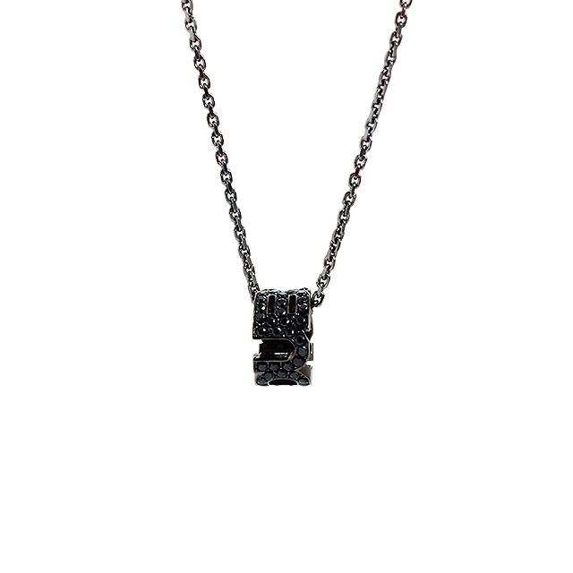 即日発送アイテム【DUB collection|ダブコレクション】Emblem Ring Necklace エンブレム リング ネックレス DUBj-177-2【ユニセックス】
