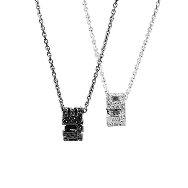 【DUB collection|ダブコレクション】Emblem Ring Pair Necklace エンブレム リング ペア ネックレス DUBj-177-pair【ペア】