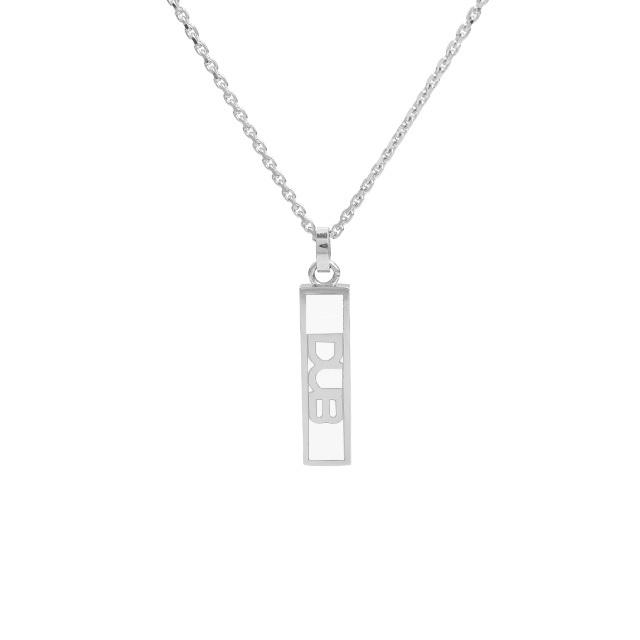 アウトレット【DUB collection|ダブコレクション】DUB logo line mini necklace top ダブロゴラインミニネックレストップ DUBj-192-2【ユニセックス】