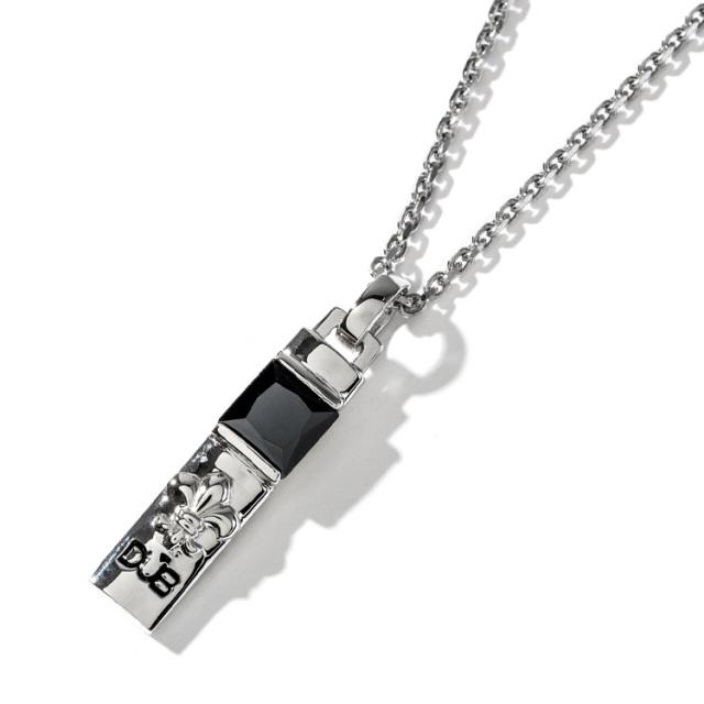即日発送アイテム【DUB Collection|ダブコレクション】Crest of the Lily Necklace Top クレストオブザリリィーネックレストップ DUBj-229-1【ユニセックス】
