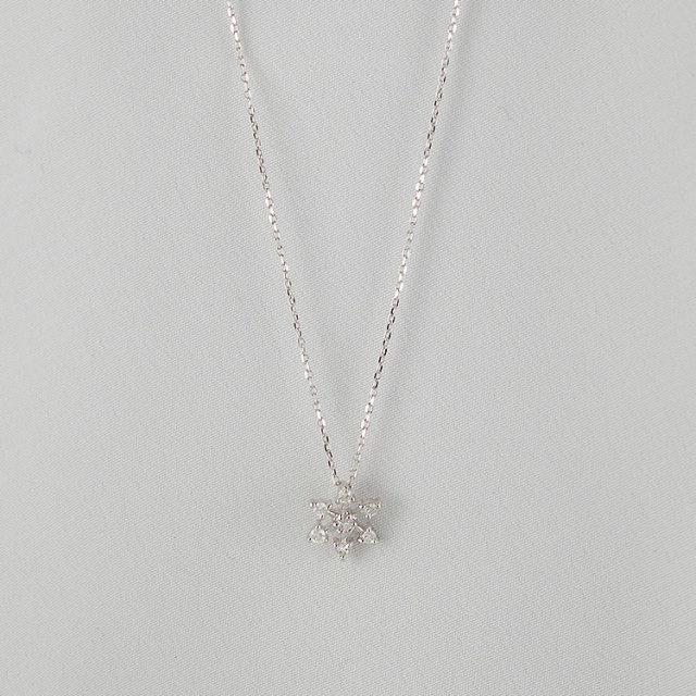 Snowflake Necklace スノウフレークネックレス TDA8929D-31【レディース】