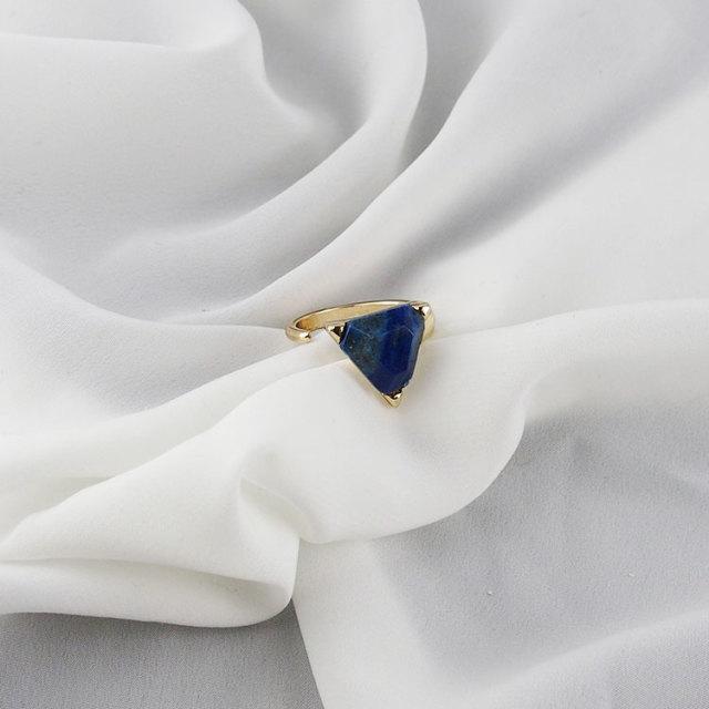 スカーフ フリーリング(ブルー)【レディース】