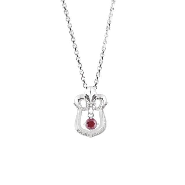 【DUB collection|ダブコレクション】Lily Horseshoe Necklace リリィホースシューネックレス DUBj-259-2【ユニセックス】