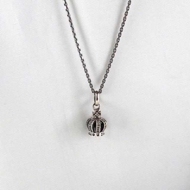 【DUB collection|ダブコレクション】Tiny Crown Necklace タイニークラウンネックレス DUBj-264-2【ユニセックス】