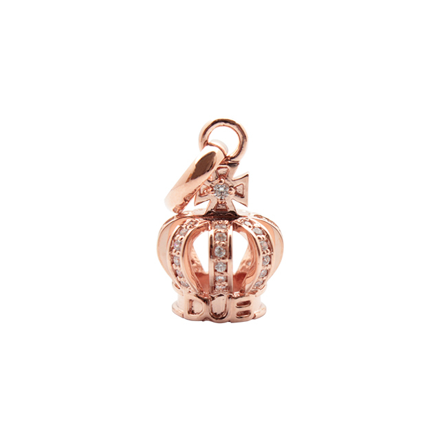 【DUB collection|ダブコレクション】Tiny Crown Necklace タイニークラウンネックレス DUBj-264-4【ユニセックス】