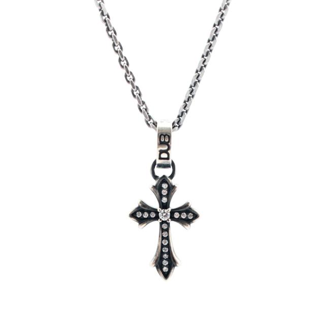 受注生産(オーダー)【DUB collection|ダブコレクション】Double face -Cross- Necklace ダブルフェイス -クロス- ネックレス DUBj-266-2【ユニセックス】