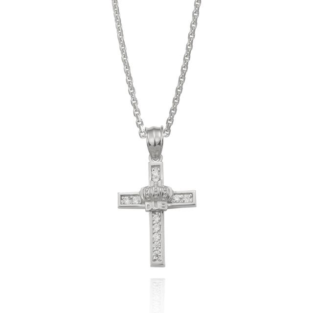 【DUB Collection ダブコレクション】Shine crown Necklace シャインクラウンネックレス DUBj-282-2【ユニセックス】