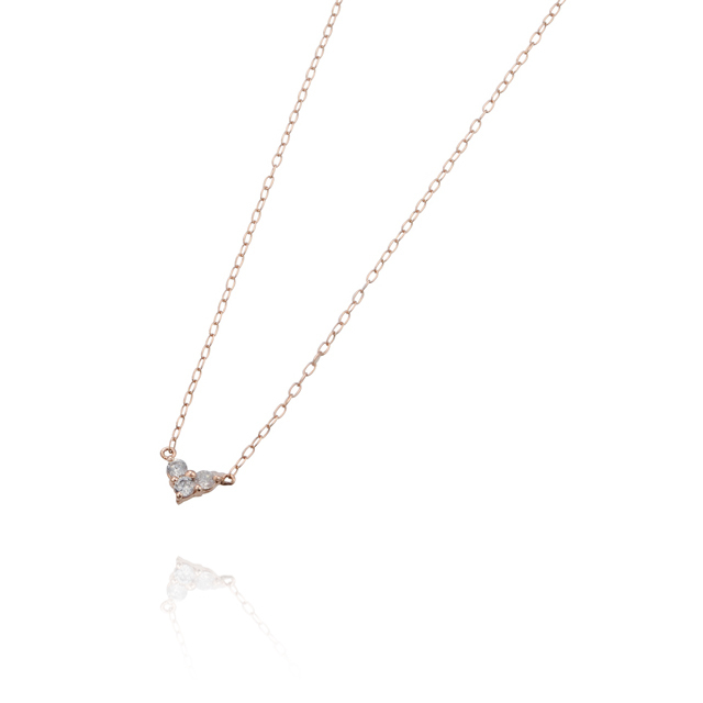 【DUB Sweet】Little heart Necklace【DUBjp-35-1(PG)】【レディース】