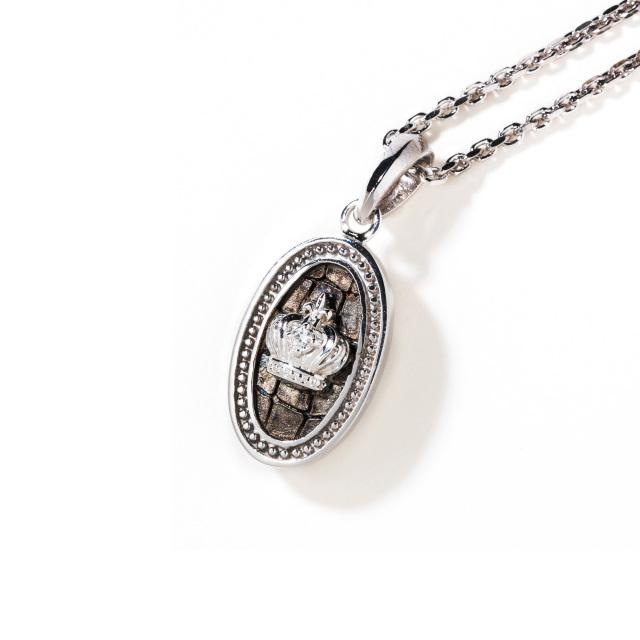 即日発送アイテム【DUB collection|ダブコレクション】Leathery Medal Necklace レザリーメダルネックレス DUBj-381-1【ユニセックス】