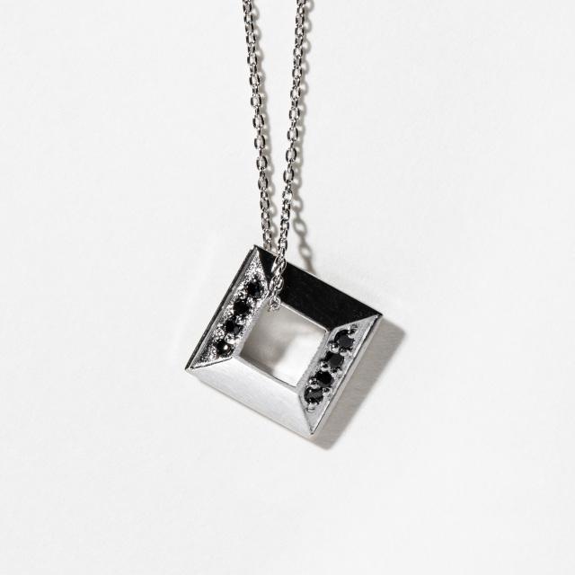 【先行予約】【DUB collection|ダブコレクション】Square Necklace スクエアネックレス DUBj-384-1【ユニセックス】