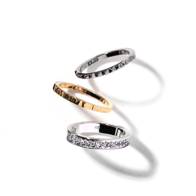 即日発送アイテム【DUB collection|ダブコレクション】Trinity Ring トリニティリング DUBj-386-1【ユニセックス】