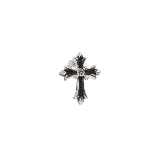 受注生産(オーダー)【DUB Collection│ダブコレクション】 Slender Cross Pierced スレンダークロスピアス DUBj-357-2