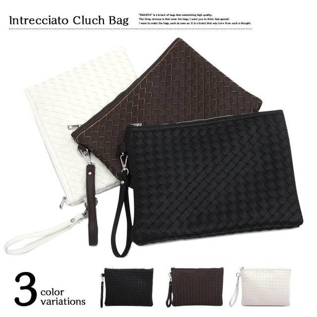 Intrechart Clutch Bag イントレチャートクラッチバッグ  【ユニセックス】