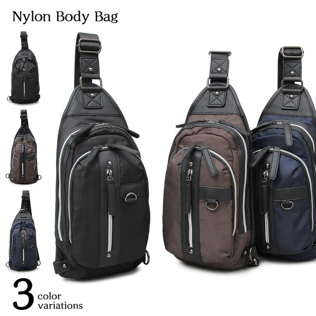 Nylon Body Bag ナイロンボディバッグ 【ユニセックス】