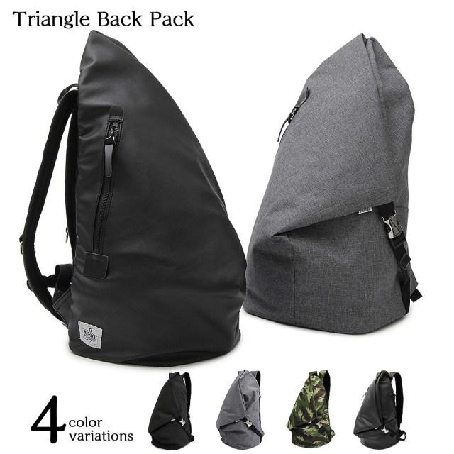 Triangle Back Pack トライアングルバックパック 【ユニセックス】