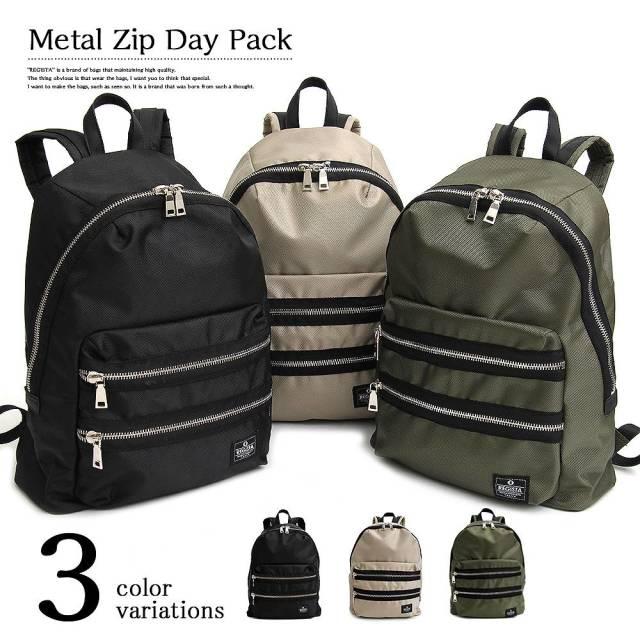 Metal Zip Day Pack メタルジップデーパック 【ユニセックス】