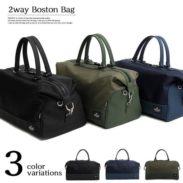 2Way Boston Bag 2ウェイボストンバッグ 【ユニセックス】