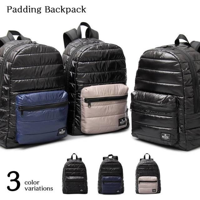 padding Bag Pack パディングバックパック 【ユニセックス】