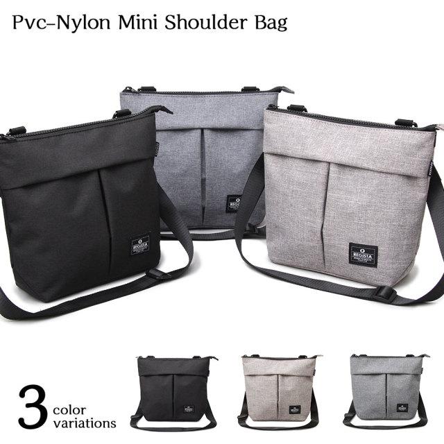 PVC-Nylon Mini Shoulder Bag PVC-ナイロンミニショルダーバッグ 【ユニセックス】