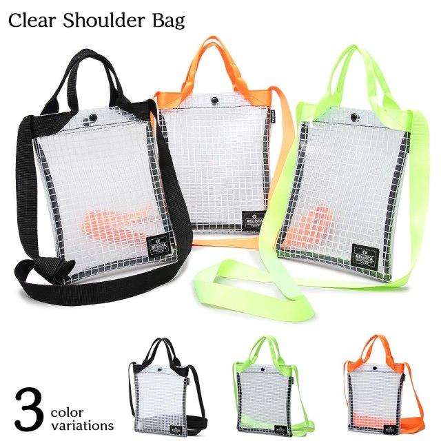 Clear Shoulder Bag クリアショルダーバッグ 【ユニセックス】