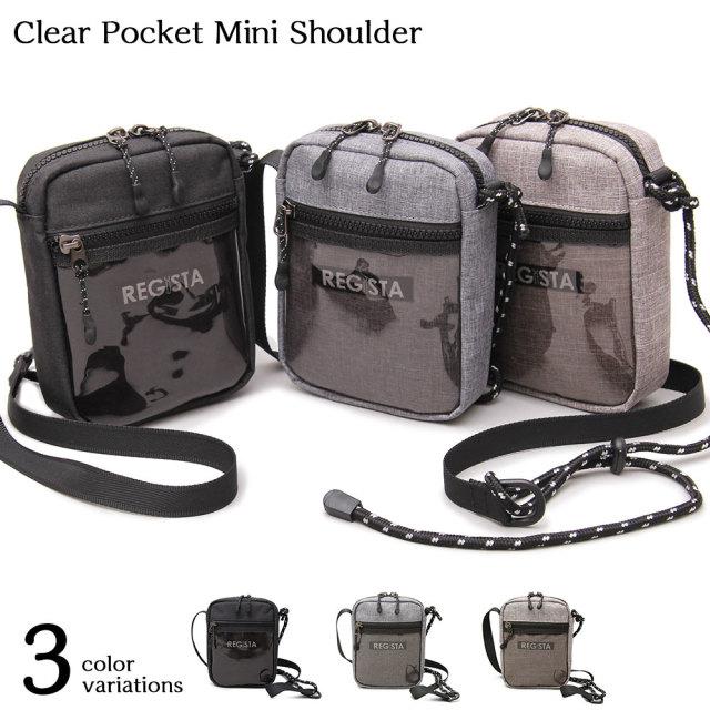 Clear Pocket Mini Shoulder クリアポケットミニショルダー 【ユニセックス】