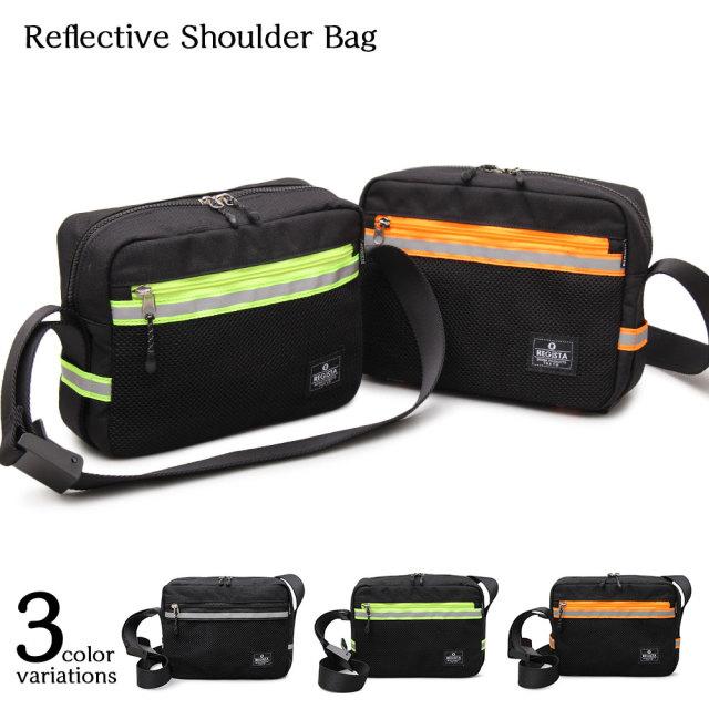 Reflective Shoulder Bag リフレクティブショルダーバッグ 【ユニセックス】