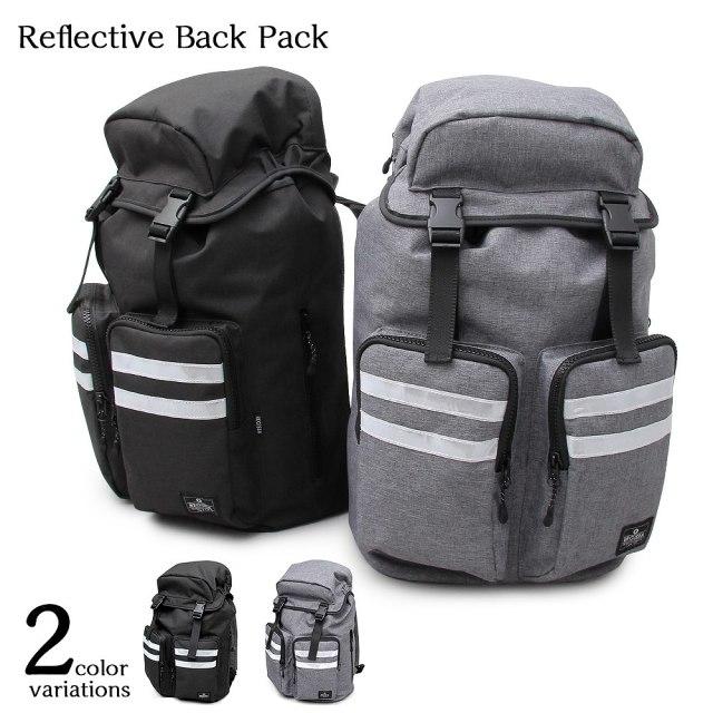 Reflective Back Pack リフレクティヴバックパック 【ユニセックス】