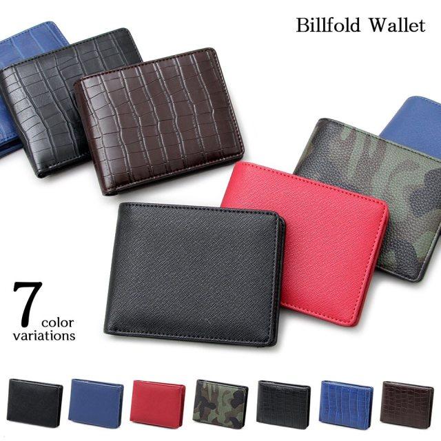 Billfold Wallet ビルフォールド ウォレット【ユニセックス】