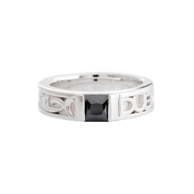 受注生産(オーダー)【DUB Collection】DUB Ivy Ring DUBj-189-1(BK)【ユニセックス】