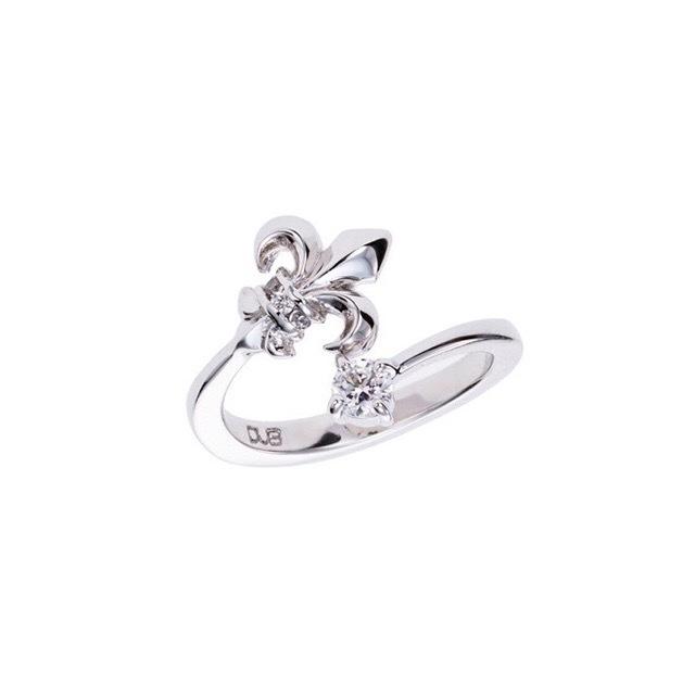 【DUB Collection│ダブコレクション】Classial Lilly Phalange Ring クラシカルリリィ ファランジリング DUBj-346-1【レディース】桜井莉菜着用アイテム
