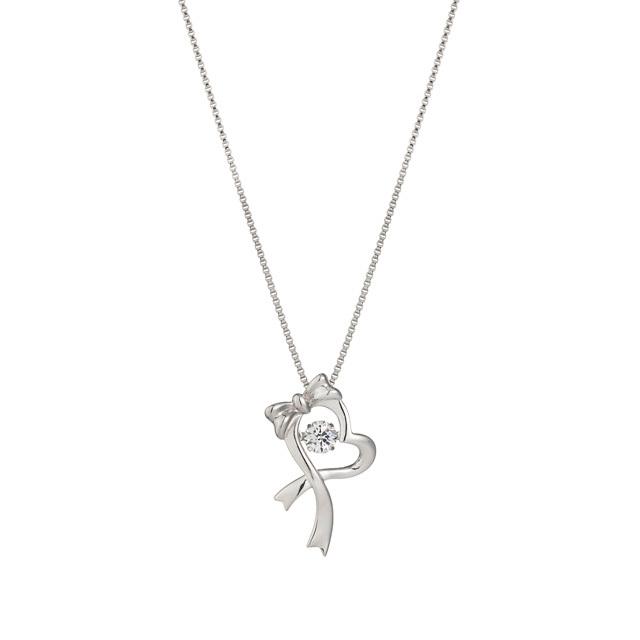 【Crossfor NewYork】Dancing Gift heart Pendant(NYP-538)