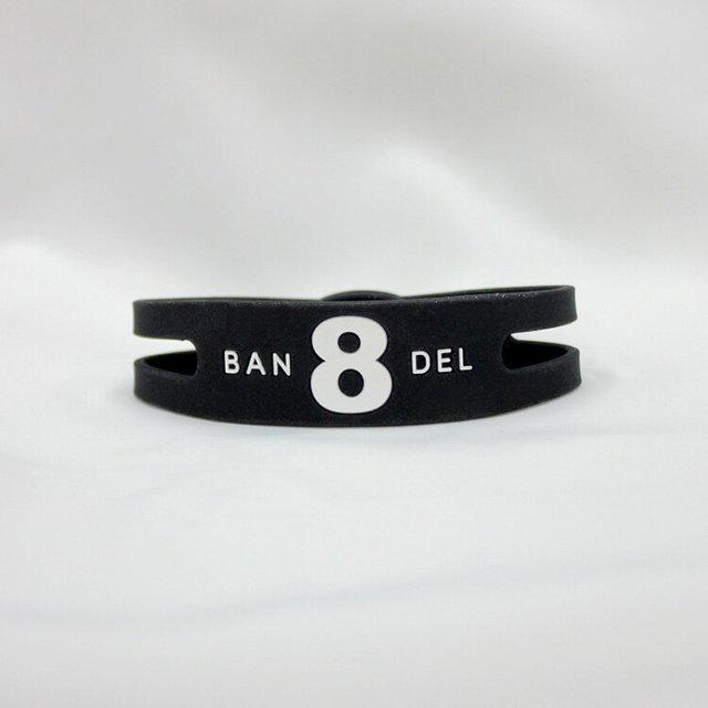 BANDEL Regular Number Bracelet レギュラー ナンバー ブレスレット no8【ユニセックス】