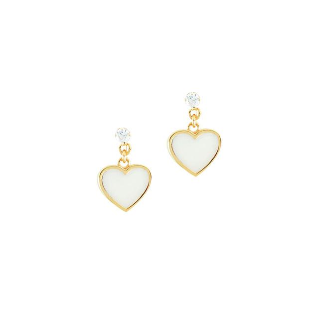 【DUB Collection│ダブコレクション】 天野眞隆 model Heart Earrings DUB-C053-1【ナオピーコラボ】【レディース】