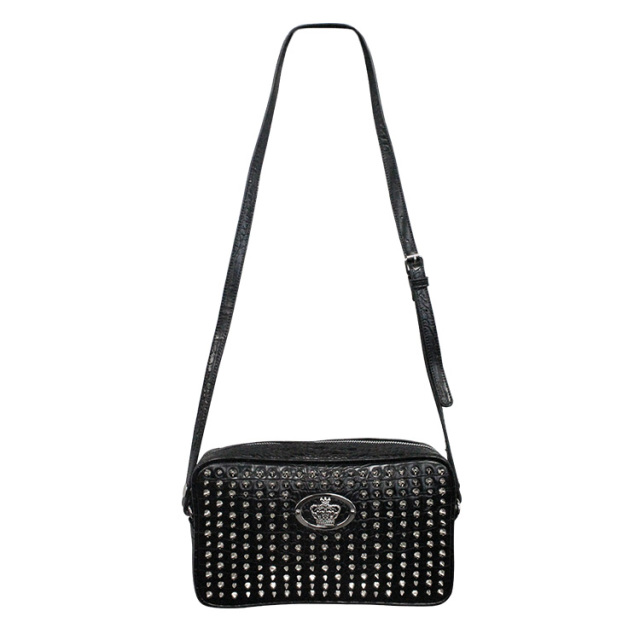 【DUB Collection】桜井莉菜model Studs Shoulder Bag スタッズショルダーバッグ【C072-1】