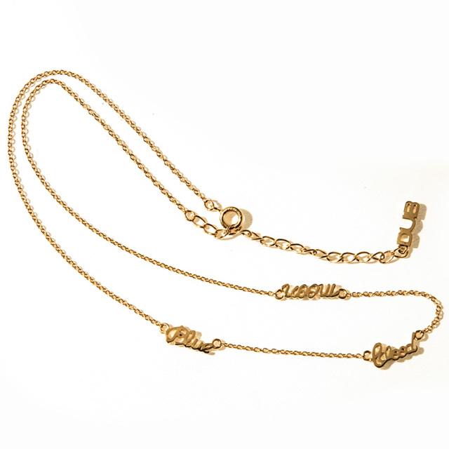 予約販売【DUB Collection】とまん model Blue Blood Moon Necklace ブルーブラッドムーン ネックレス【C080-1】