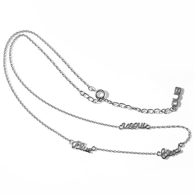 納期1ヶ月半【DUB Collection】とまん model Blue Blood Moon Necklace ブルーブラッドムーン ネックレス【C080-2】