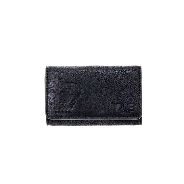 【DUB GOODS|ダブグッズ】DUB key case-Crown (ブラック)|DUB-G019-1BK